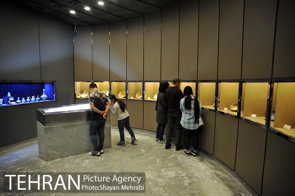 تالار مینای موزه آبگینه