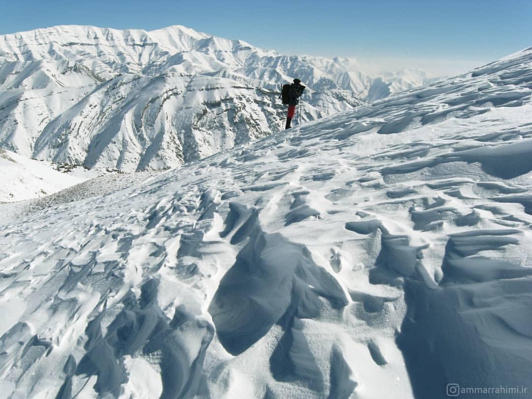 کوه های روستای واریش و وردیچ