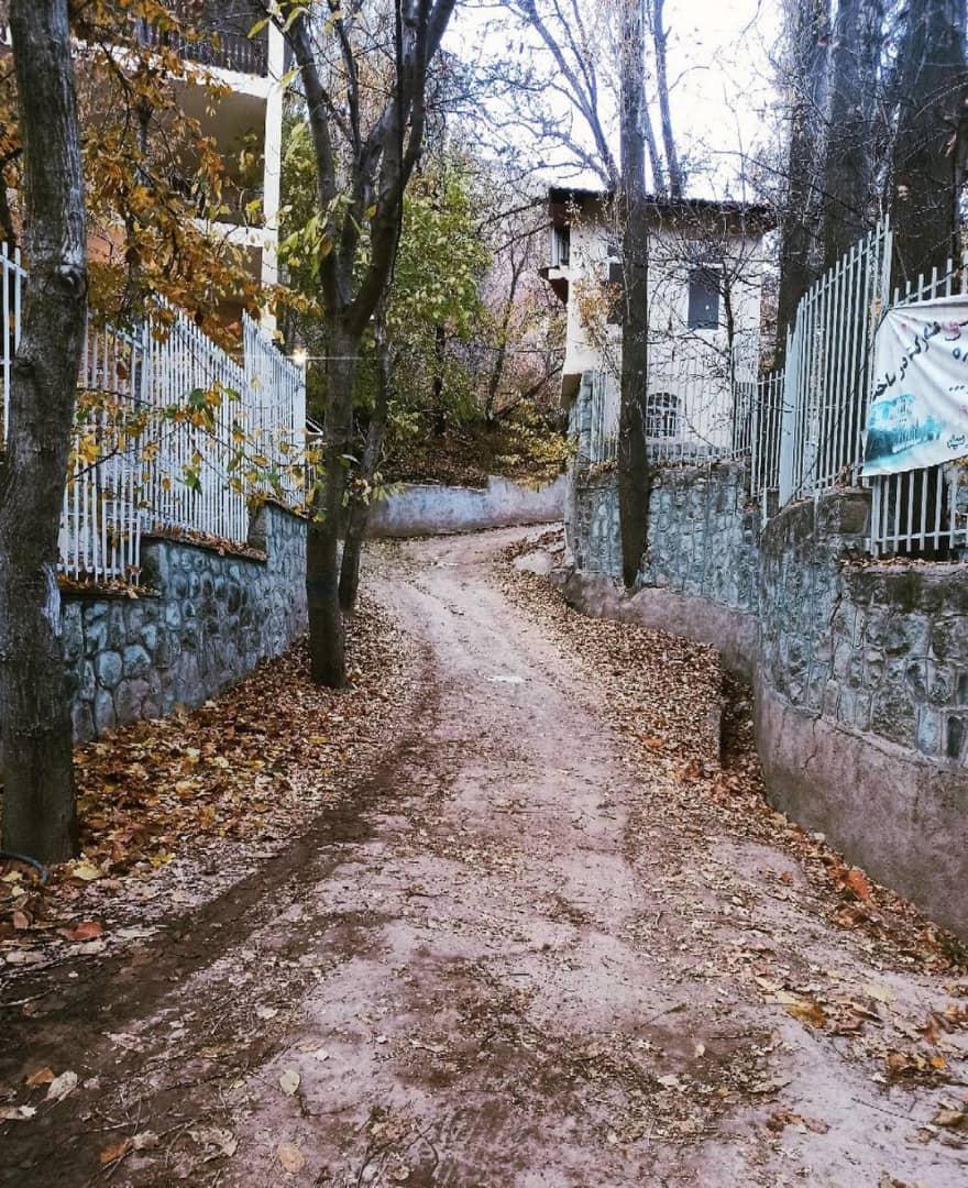 کوچه روستای آهار